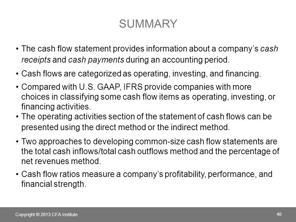accounting cash flows essay