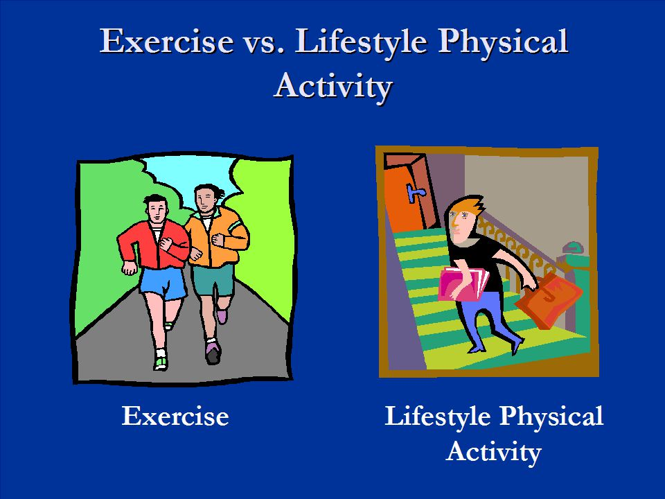 Exercise vs. Lifestyle Physical Activity