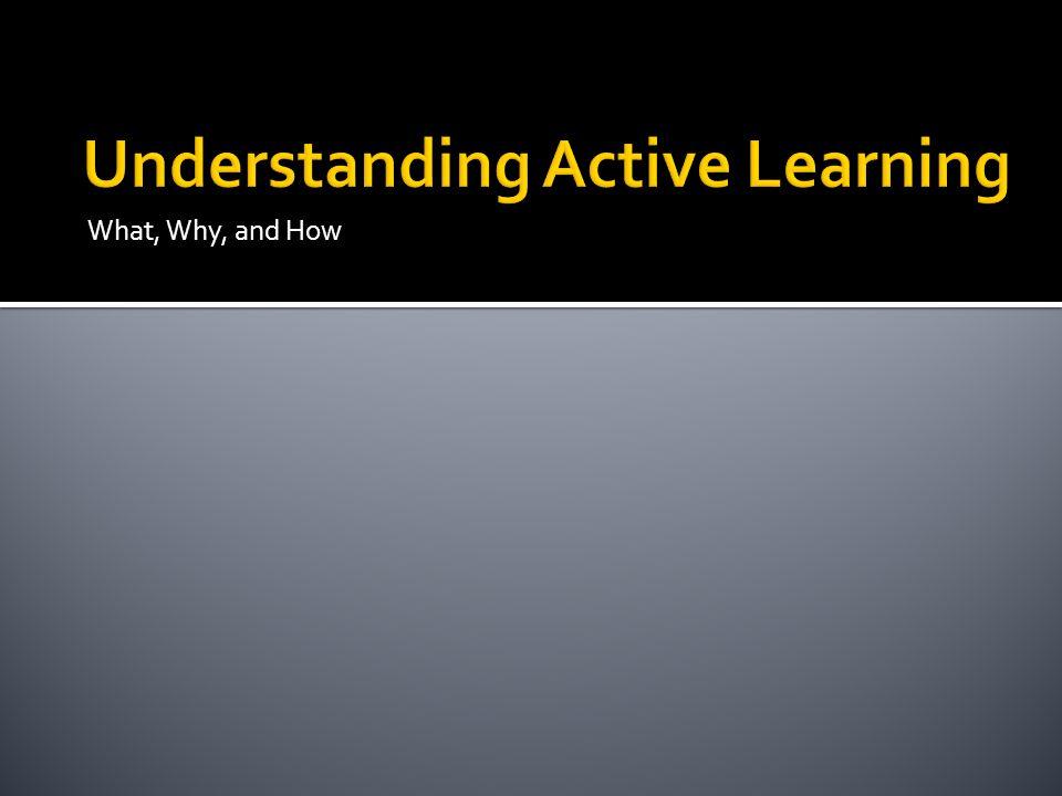 Understanding Active Learning