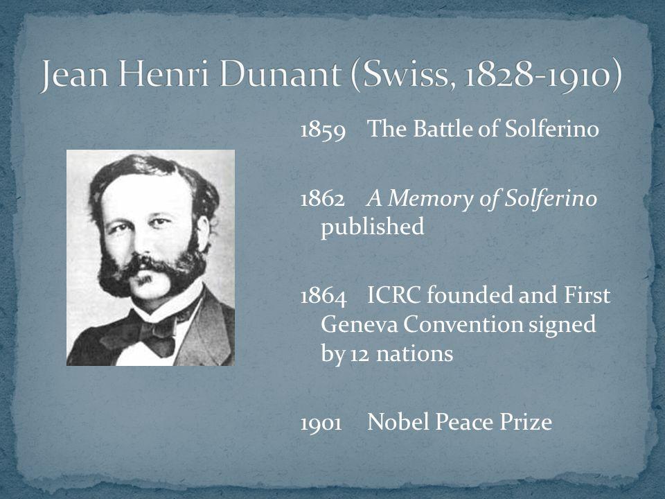 Jean Henri Dunant (Swiss, 1828-1910)