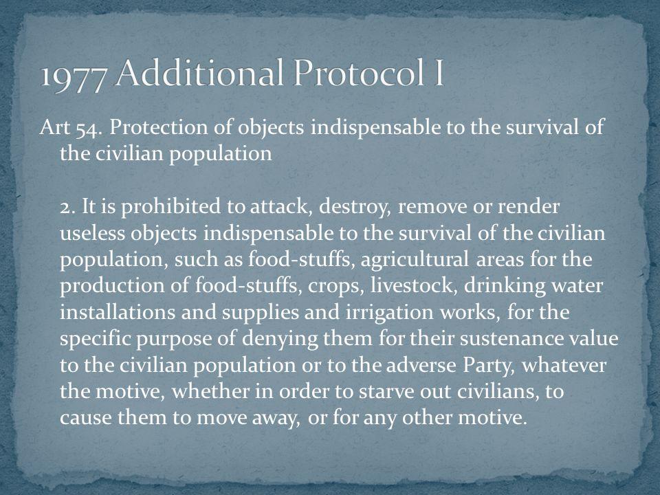 1977 Additional Protocol I