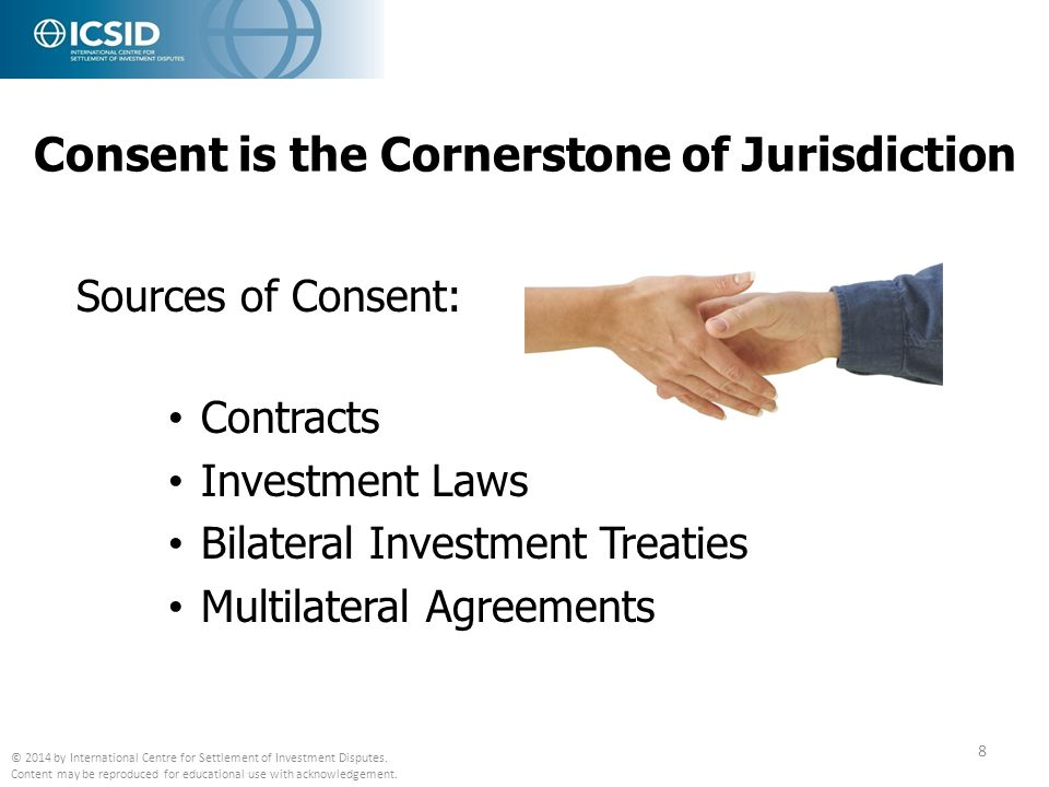 Consent is the Cornerstone of Jurisdiction