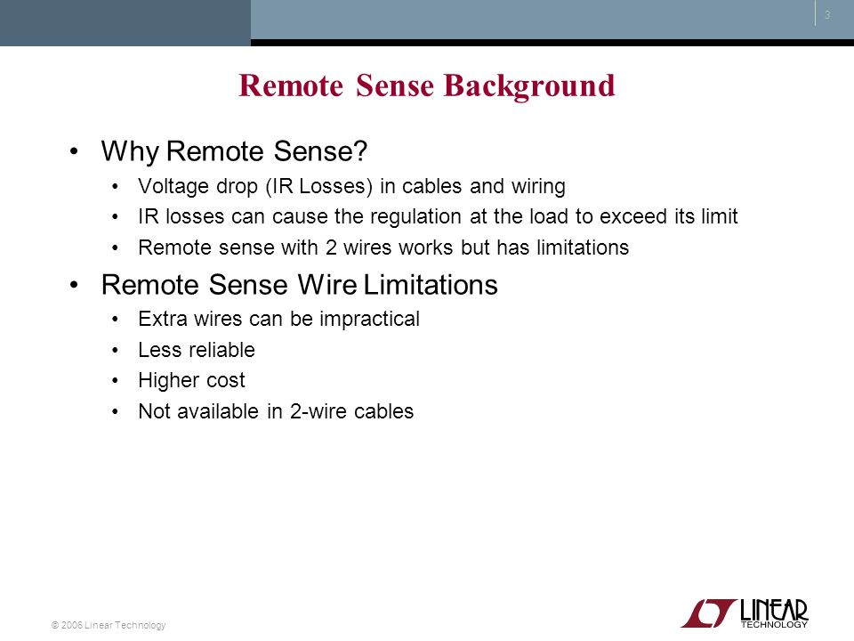 Remote Sense Background