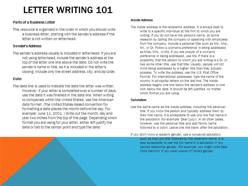 How to Write an Introduction Letter