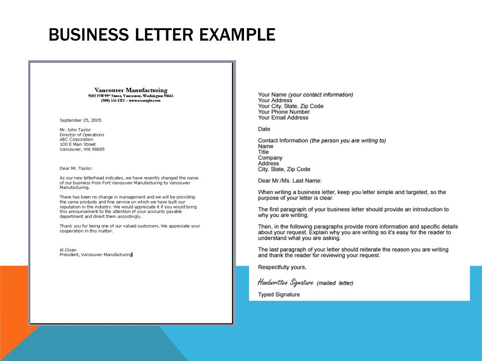 business letter There is no one best font or best group of fonts for writing a business letter a lot depends on the context – who you're writing to, for.