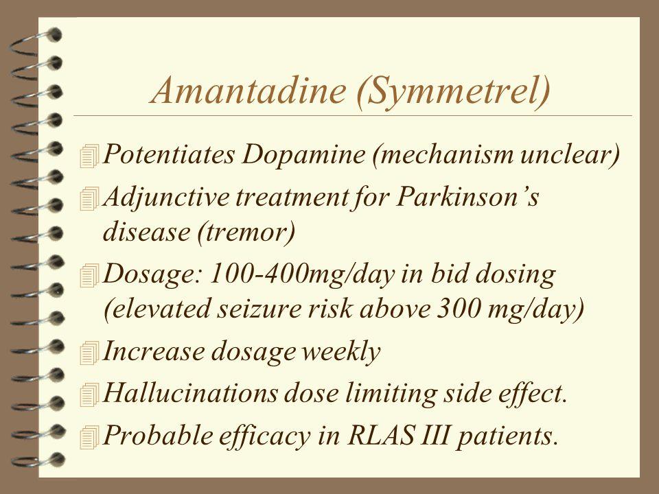 Amantadine (Symmetrel)