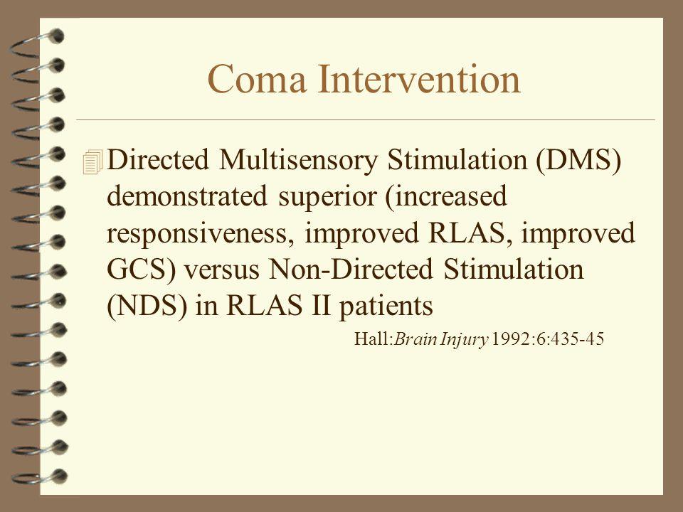 Coma Intervention
