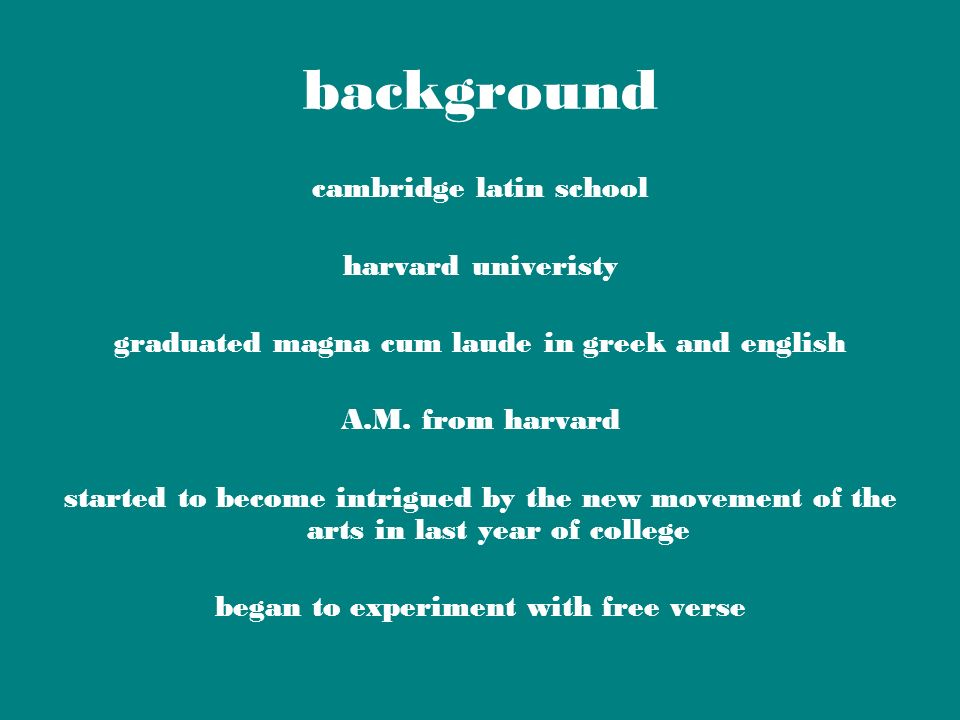 background cambridge latin school harvard univeristy