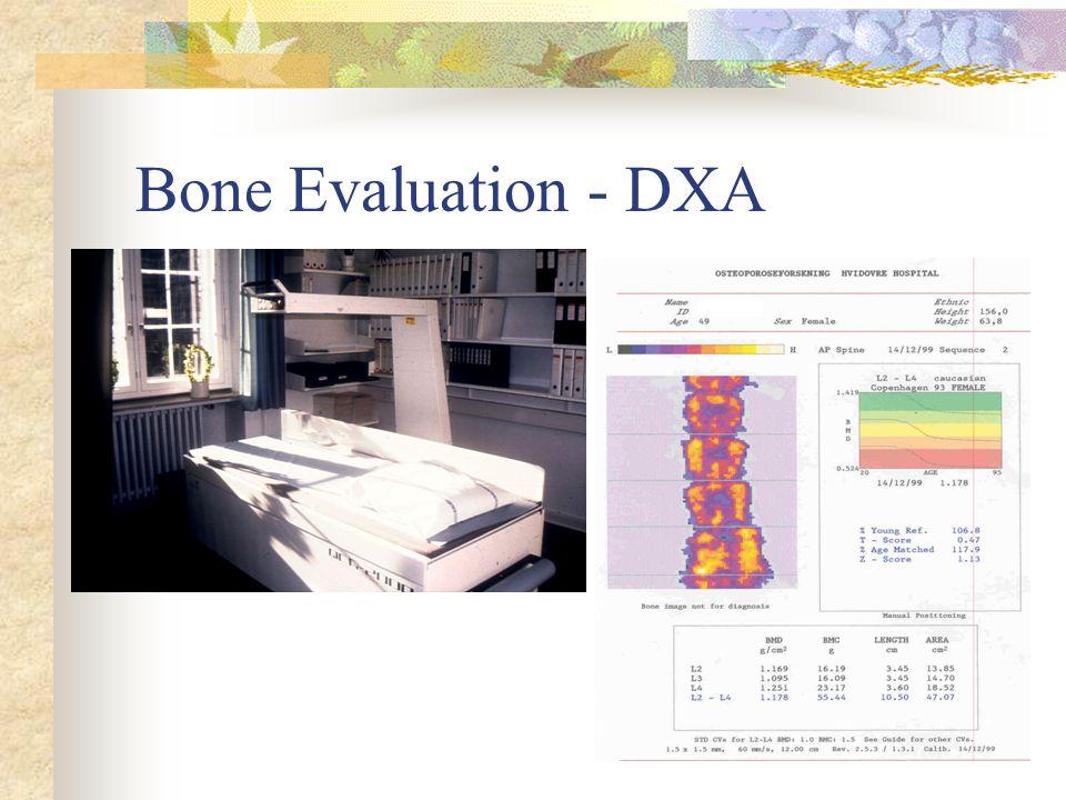 Bone Evaluation - DXA