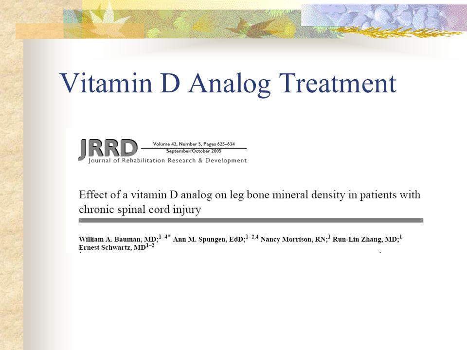 Vitamin D Analog Treatment