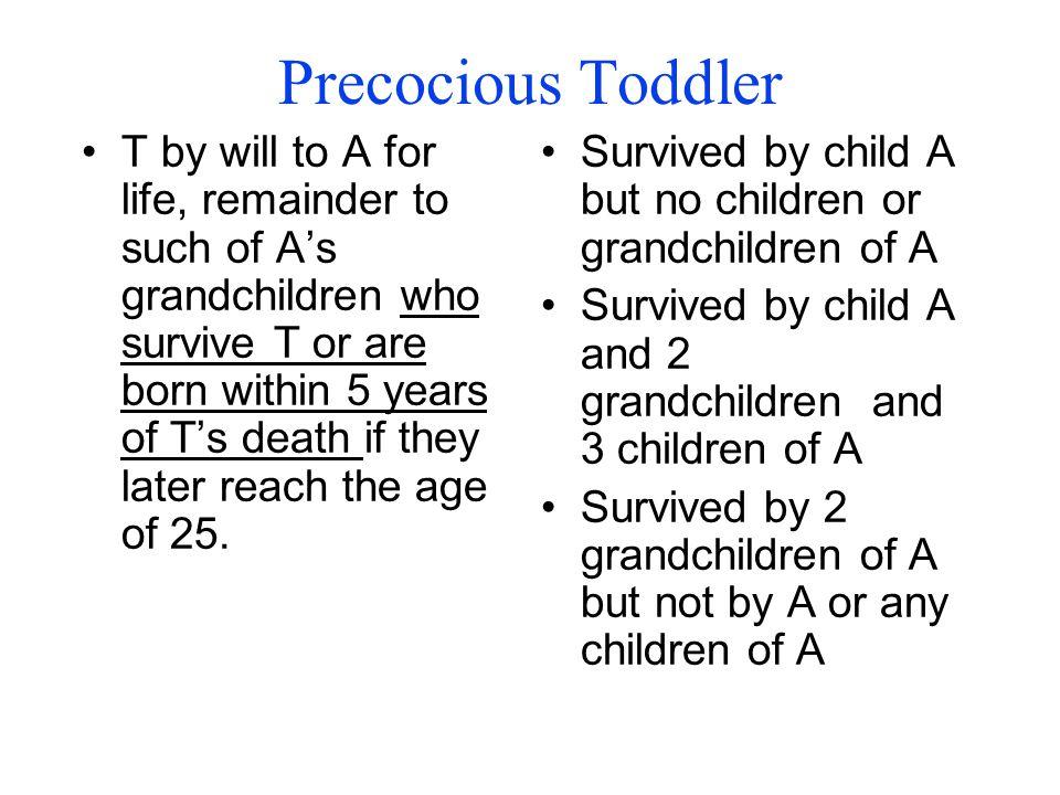 Precocious Toddler