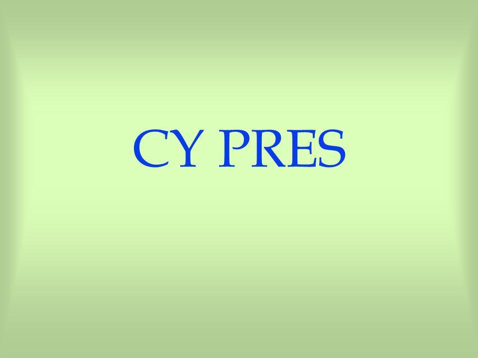 CY PRES