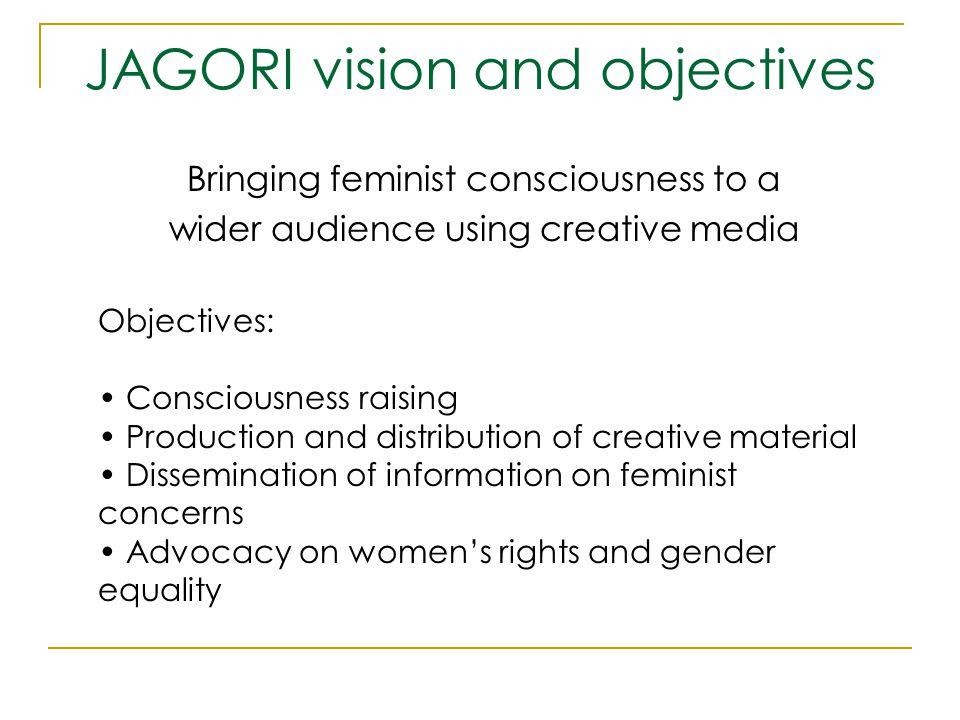 JAGORI vision and objectives