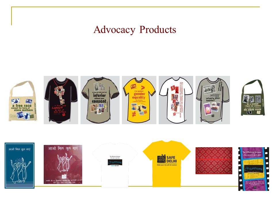 Advocacy Products