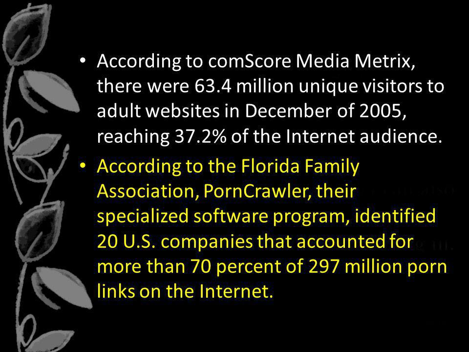 According to comScore Media Metrix, there were 63