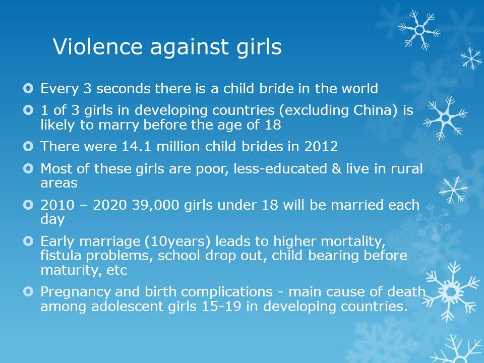 Violence against girls