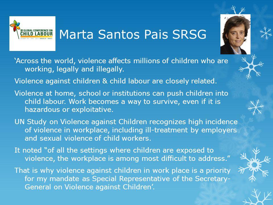 Marta Santos Pais SRSG