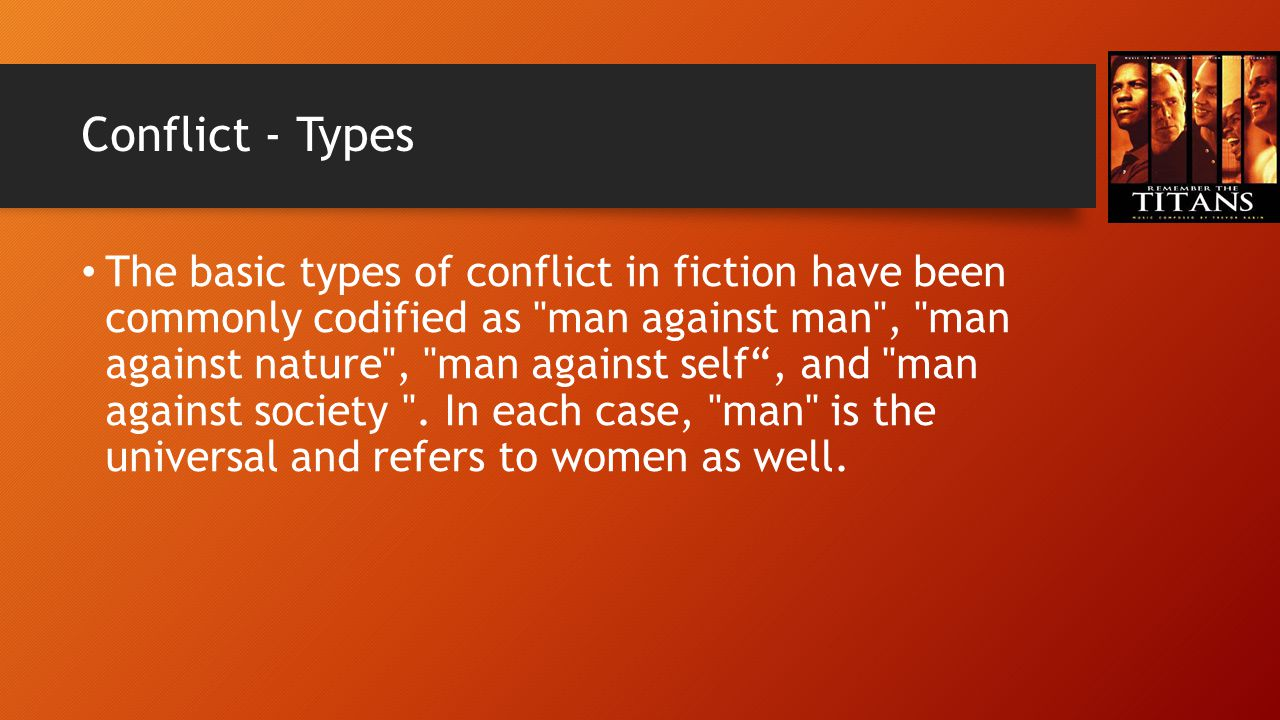 Conflict - Types