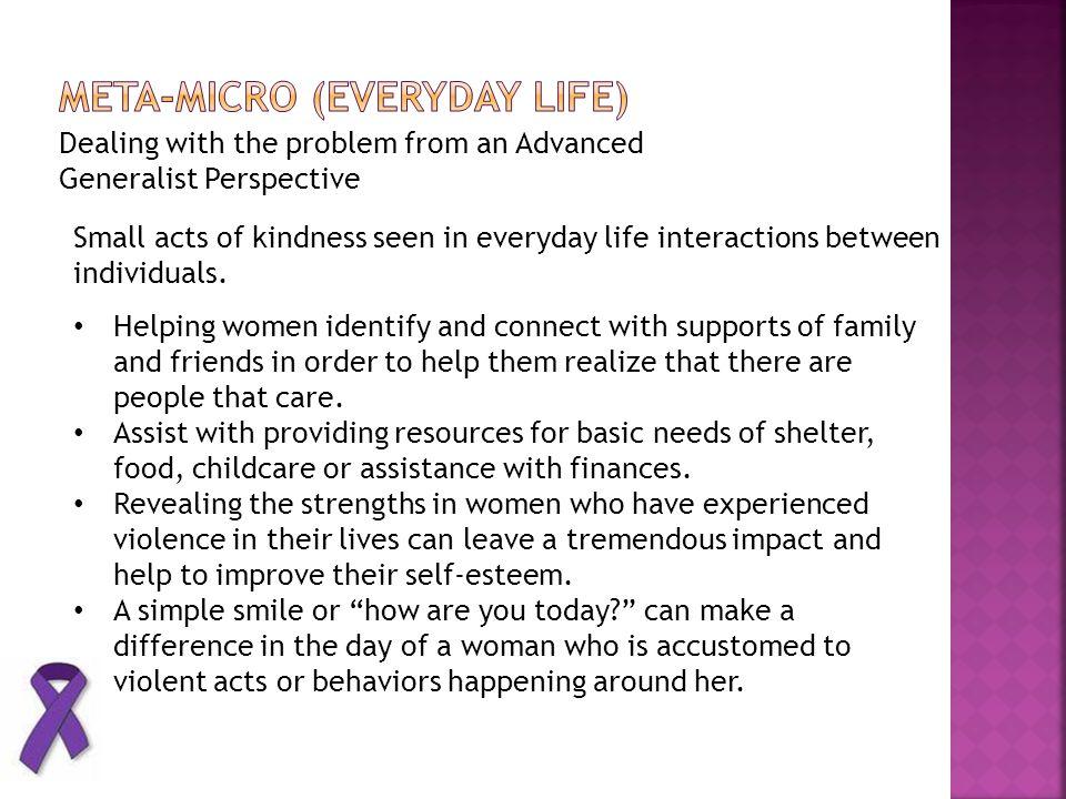Meta-micro (everyday life)