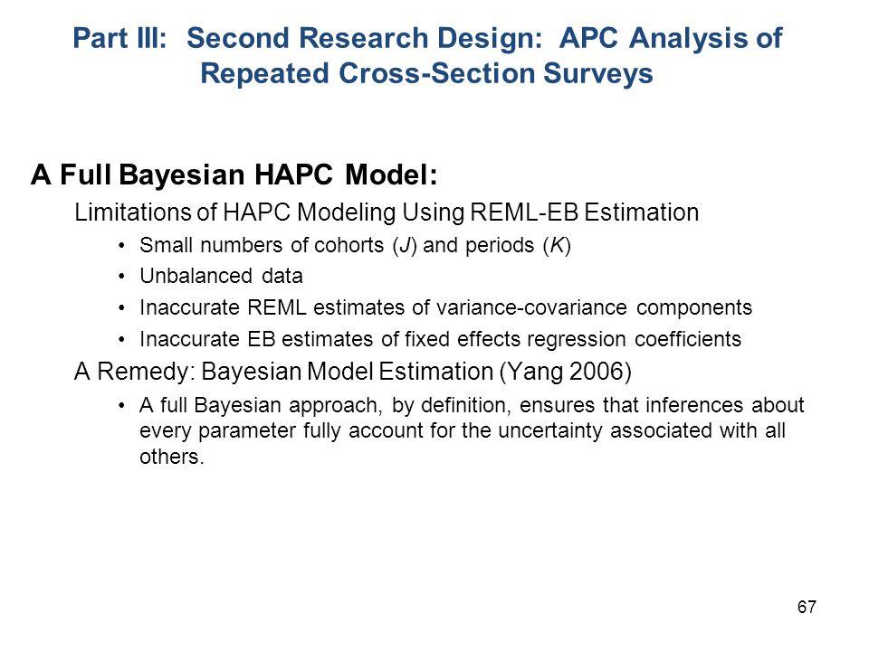 A Full Bayesian HAPC Model: