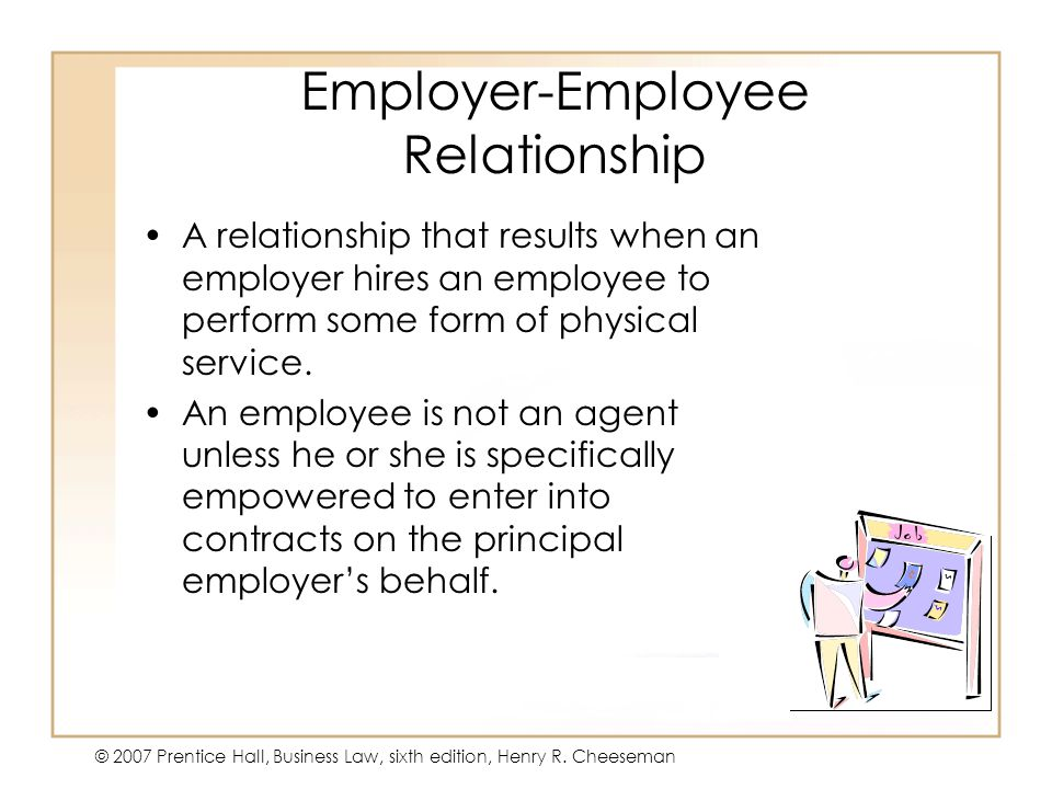 Employer-Employee Relationship