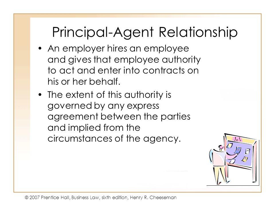 Principal-Agent Relationship