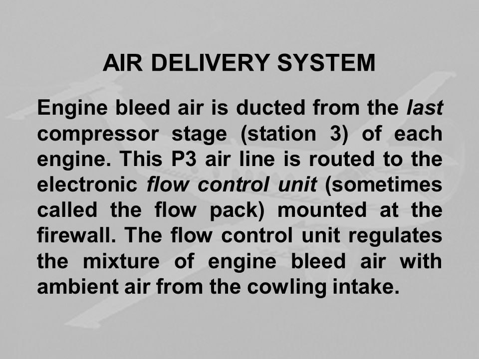 AIR DELIVERY SYSTEM