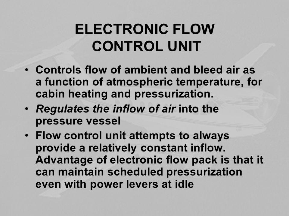 ELECTRONIC FLOW CONTROL UNIT