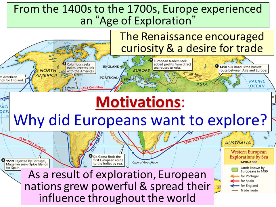Ch 19 Age Of Exploration Slides: What Factors Encouraged The European Age Of Exploration