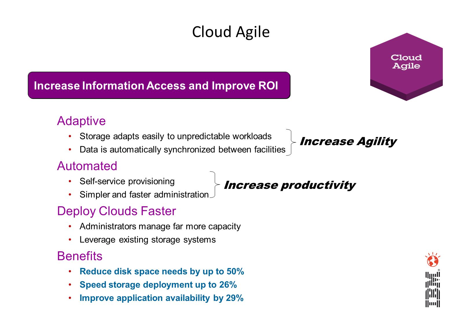 Cloud Agile Adaptive Automated Deploy Clouds Faster Benefits
