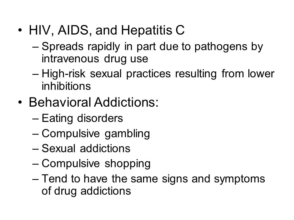 HIV, AIDS, and Hepatitis C