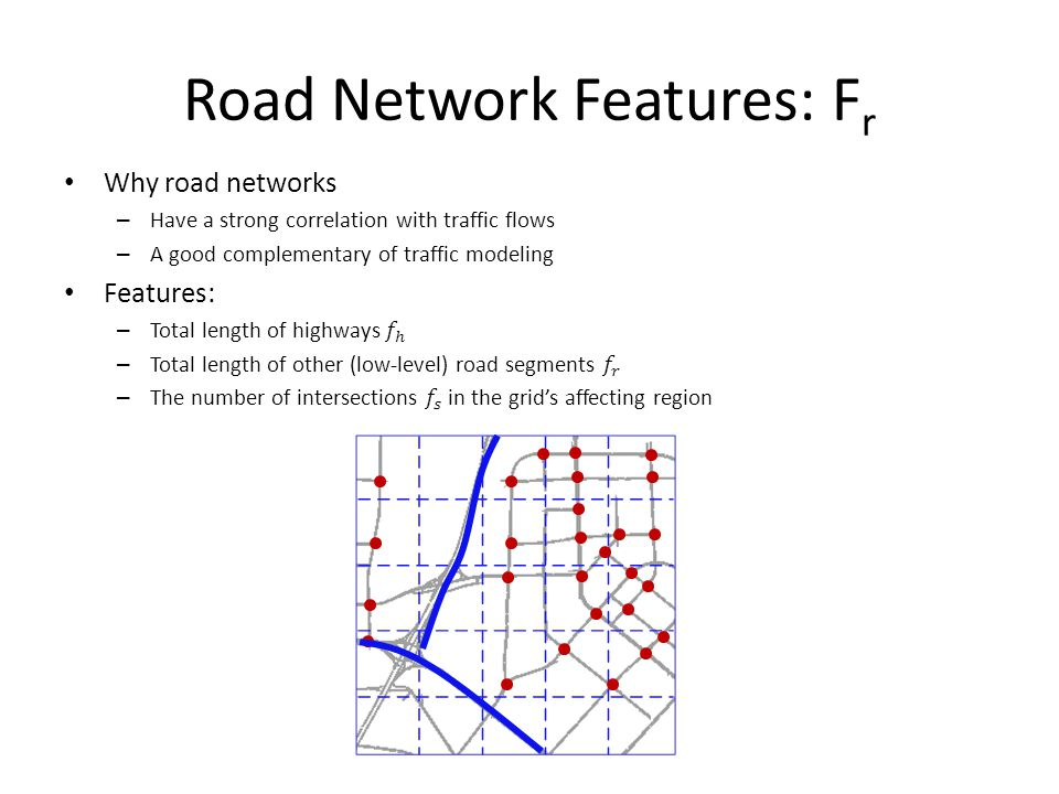 Road Network Features: Fr