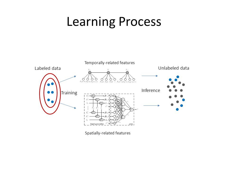 Learning Process Labeled data Unlabeled data Inference Training