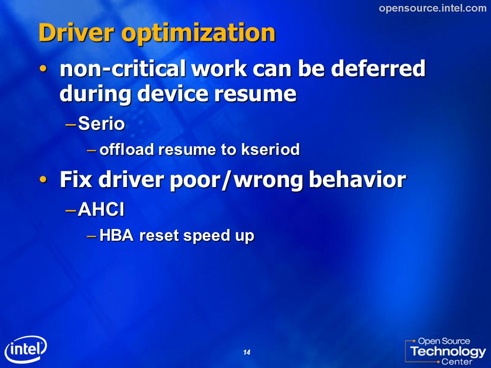 Driver optimization non-critical work can be deferred during device resume. Serio. offload resume to kseriod.
