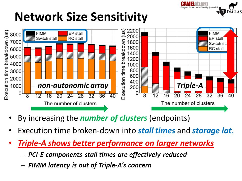Network Size Sensitivity