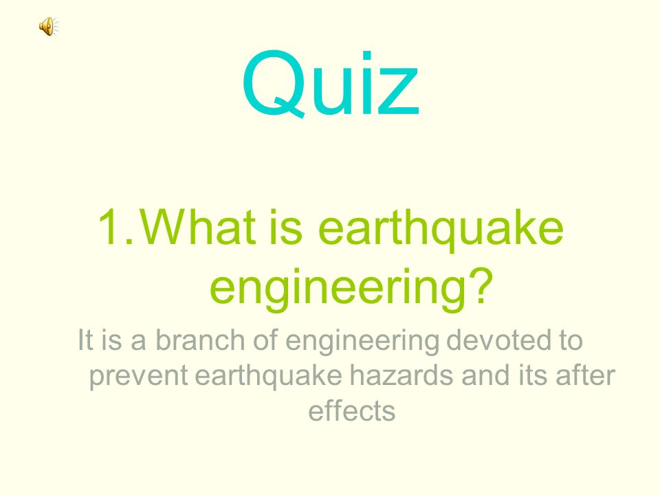 What is earthquake engineering
