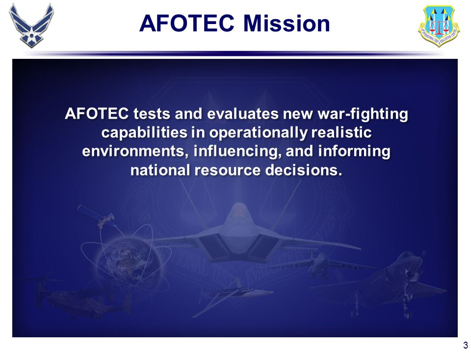 AFOTEC Mission