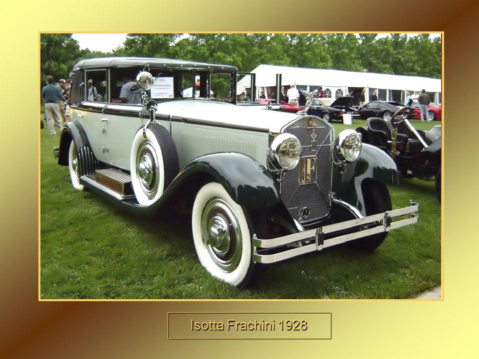 Isotta Frachini 1928