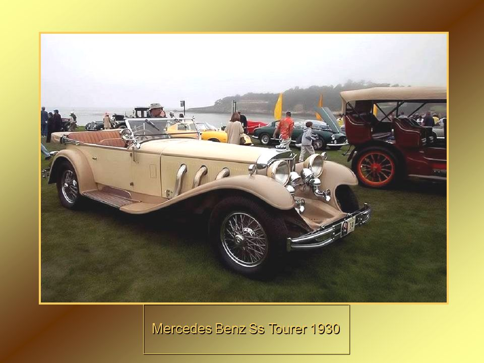Mercedes Benz Ss Tourer 1930