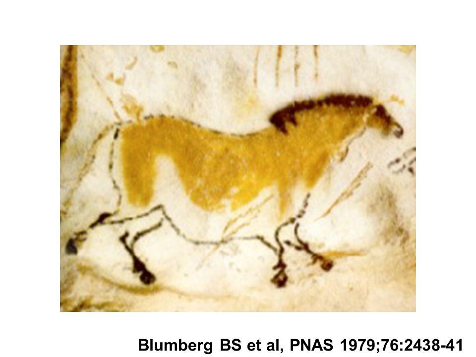 Blumberg BS et al, PNAS 1979;76:2438-41