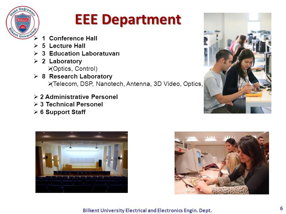 Bilkent University Electrical and Electronics Engin. Dept.
