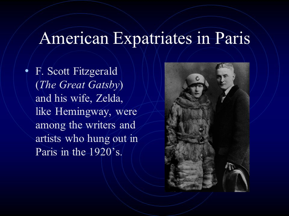 American Expatriates in Paris