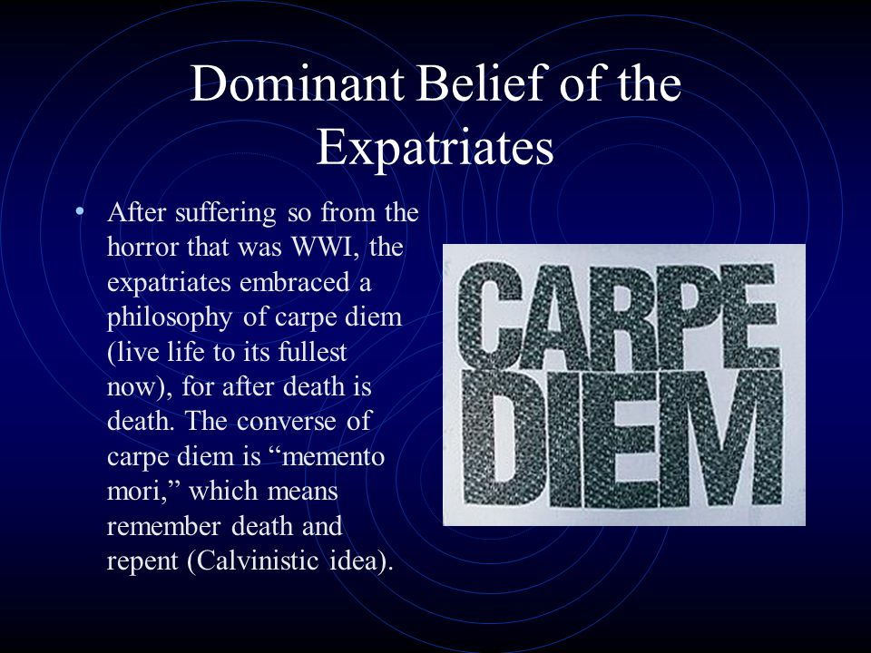 Dominant Belief of the Expatriates