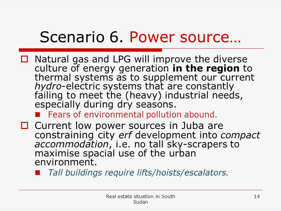 Scenario 6. Power source…