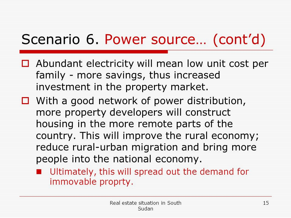 Scenario 6. Power source… (cont'd)