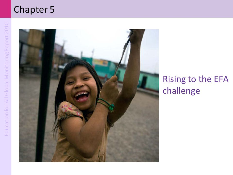 Chapter 5 Rising to the EFA challenge