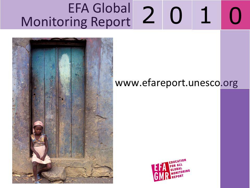 2 1 EFA Global Monitoring Report www.efareport.unesco.org