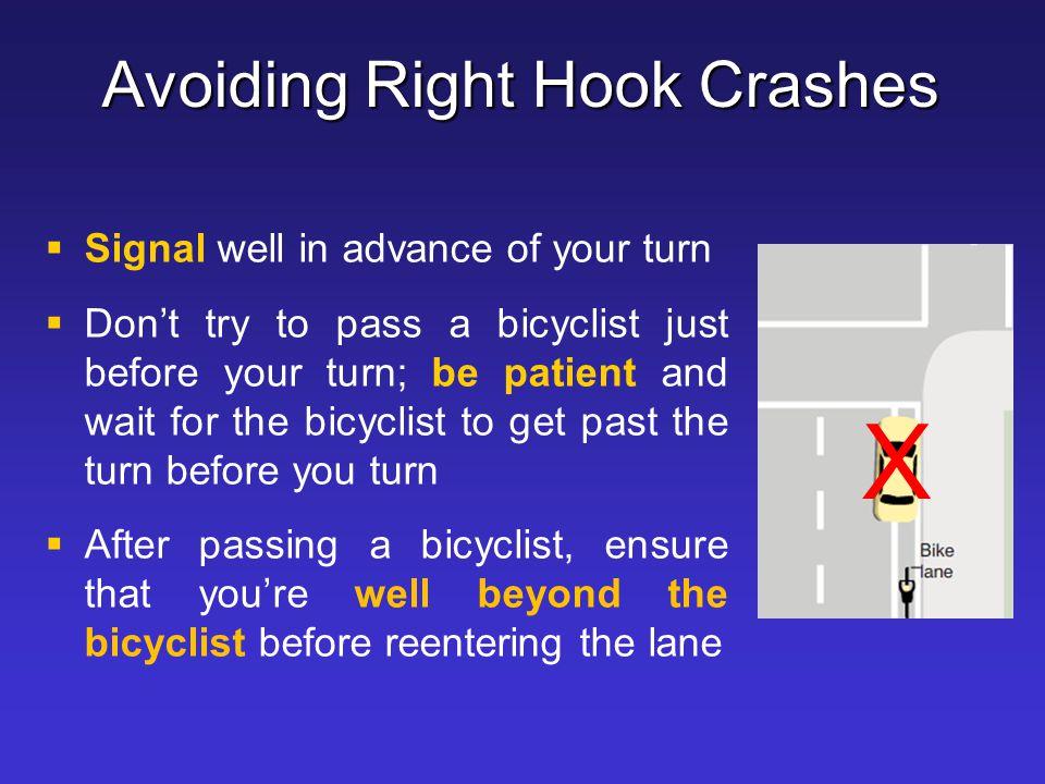 Avoiding Right Hook Crashes