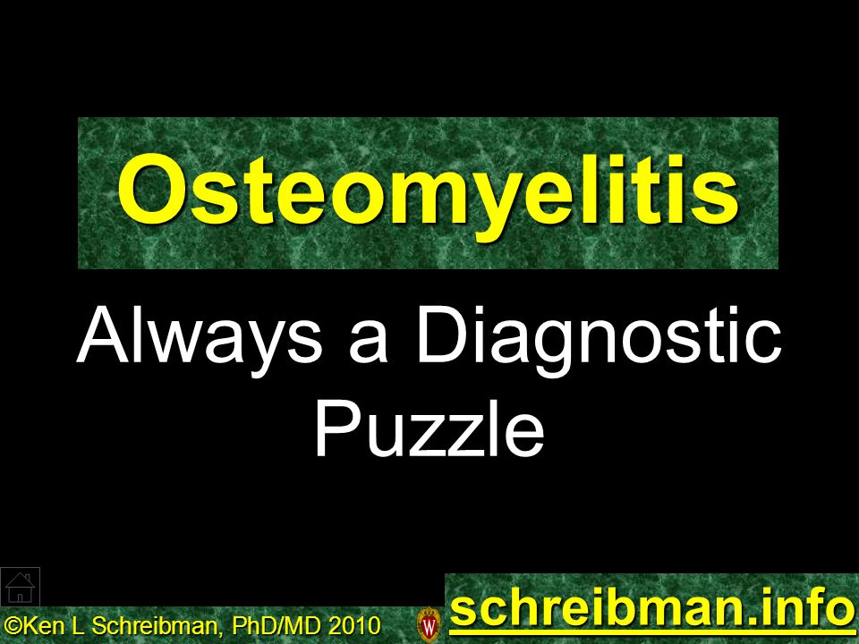 Always a Diagnostic Puzzle