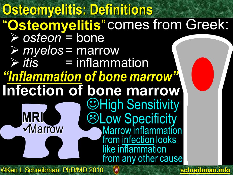 Osteomyelitis: Definitions